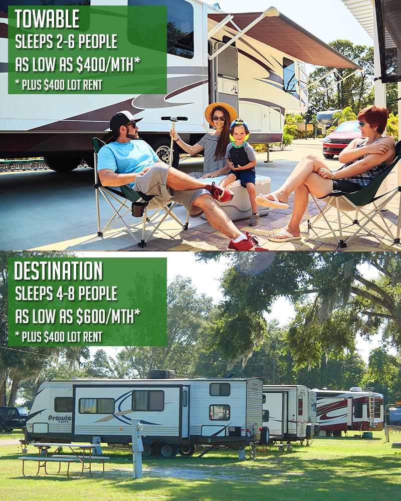 Wildwood FL RV Rentals
